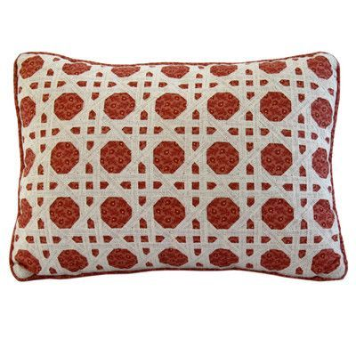 Nostalgia Home Folk Art Cotton Boudoir/Breakfast Pillow