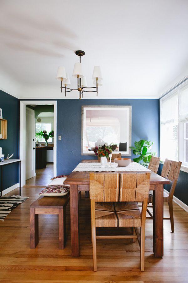 One Room Challenge  The Reveal Coco Kelley  Room Dining Gorgeous Living Room And Dining Room In One Decorating Design