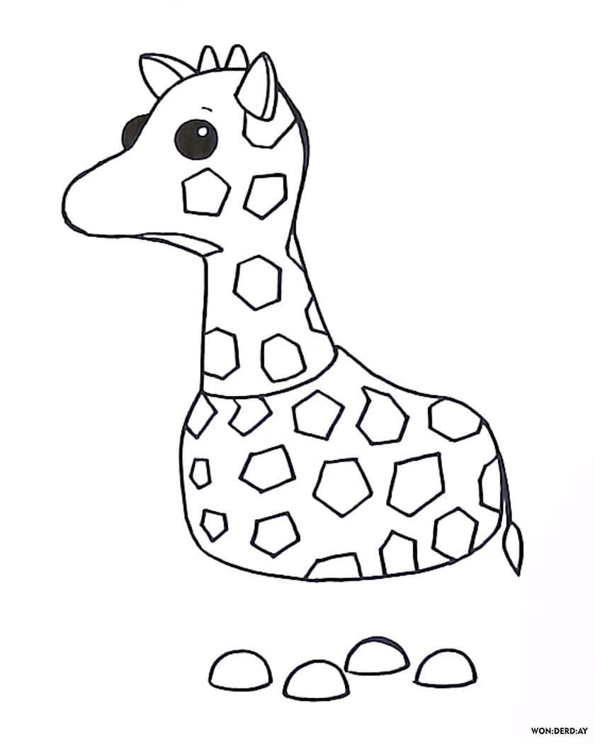 Coloring Pages Roblox Piggy Adopt Me And Others Print For Free Giraffe Coloring Pages Disney Coloring Pages Printables Cool Coloring Pages