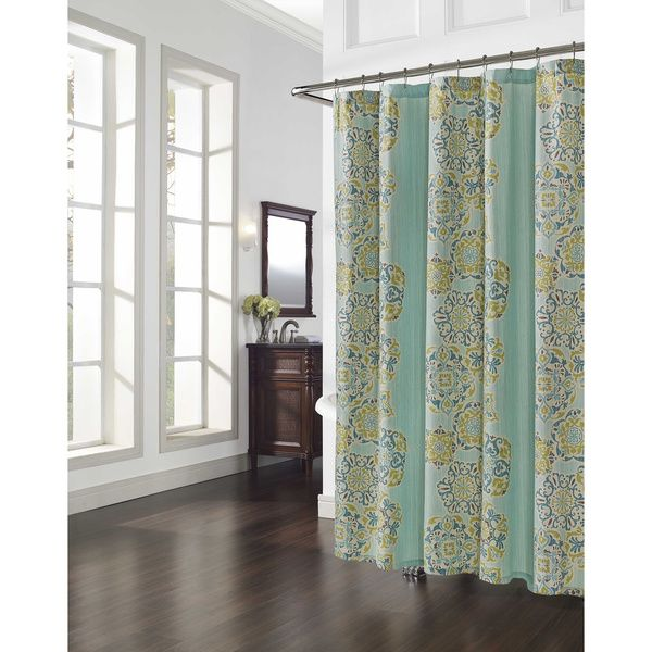 Kanur Medallion Shower Curtain - Overstock™ Shopping - Great Deals ...