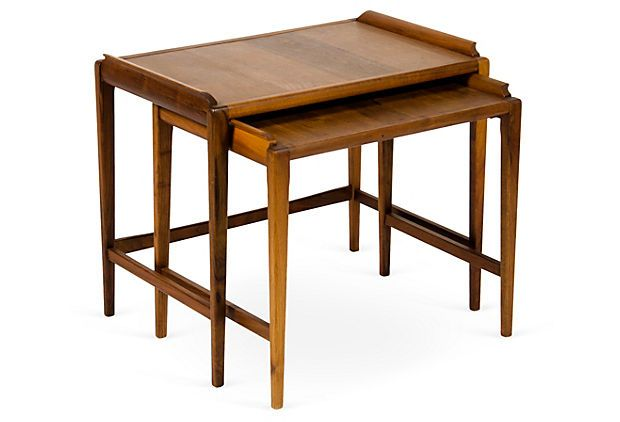 Midcentury Nesting Tables, Set of 2 on OneKingsLane.com