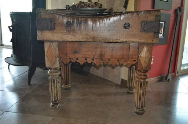 Beautiful Antique Butcher Block For Sale On Craigslist San Francisco Bay Area For 6000 Antique Furniture Furniture Antiques