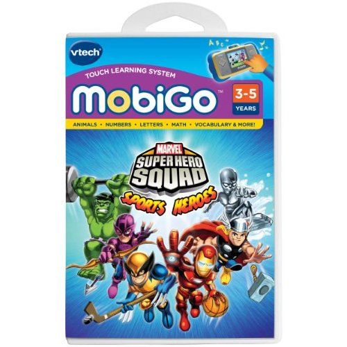 Amazon.com: VTech - MobiGo Software - Super Hero Squad: Toys & Games