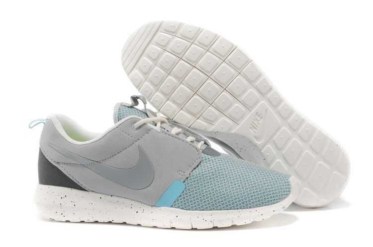 cheap for discount 1f39c fb007 UK Trainers Roshe One Nike Roshe Run Mens NM Breeze Grey Blue