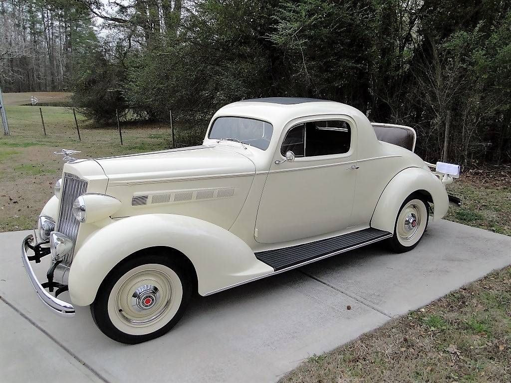 1936 packard 120b rumble seat coupe packard 1936 1937 vintage diagram as well 1936 chevy coupe project car for sale on 1936 packard [ 1024 x 768 Pixel ]