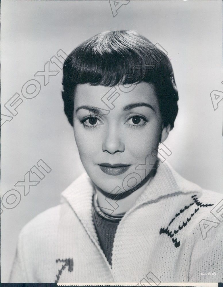 1950 Actress Jane Wyman In The Glass Menagerie Press Photo