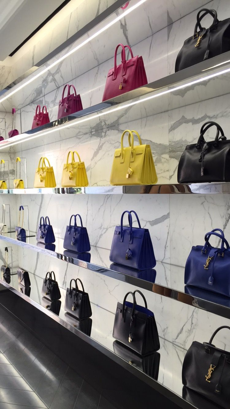 Saint Laurent Store. Luxury safes, luxury brands, exclusive design, luxury goods, luxury life, maison et objet. For more luxury news check out: http://luxurysafes.me/blog/