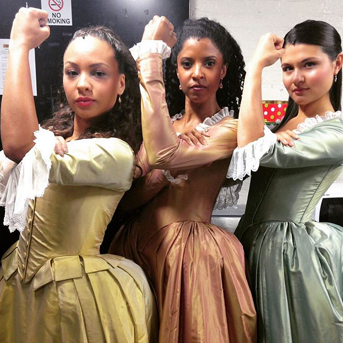 The Schuyler Sisters (Peggy, Angelica, and Eliza) || Hamilton