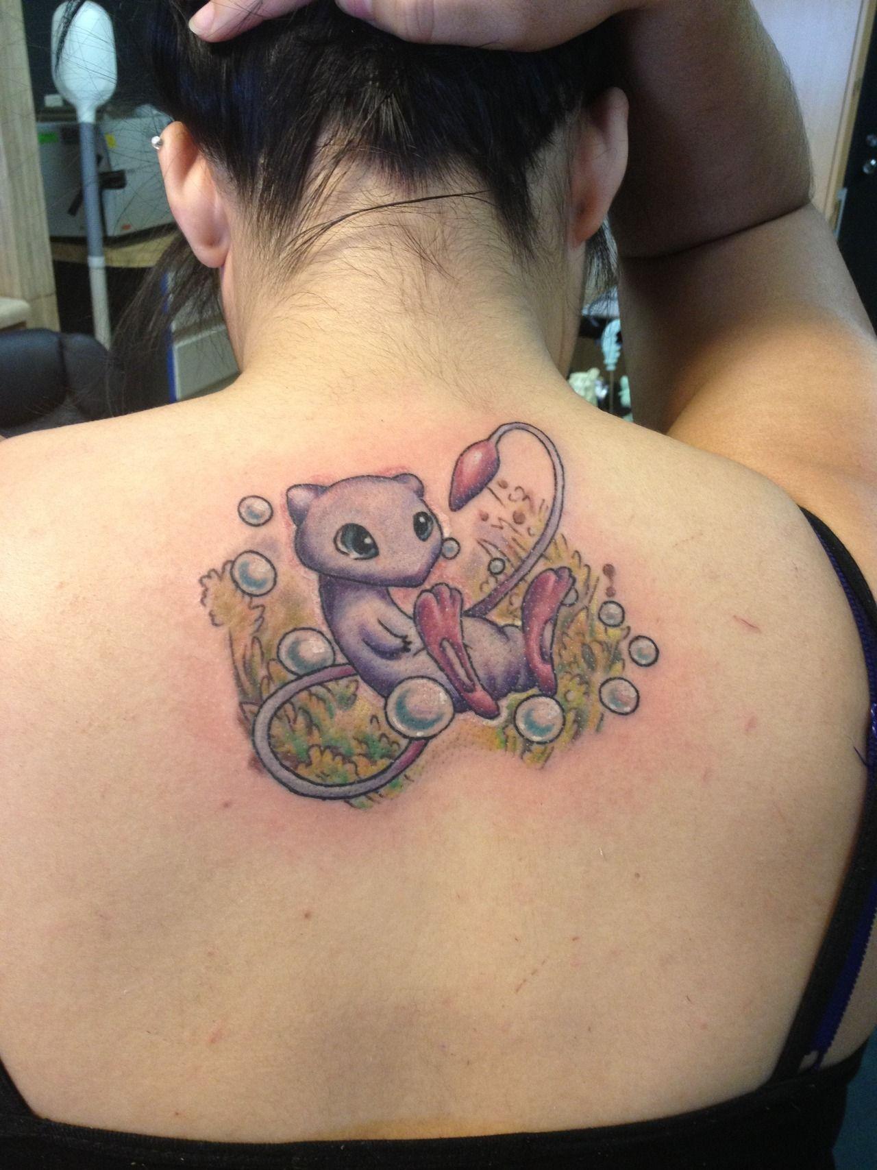 Mew! Pokemon tattoo! :D
