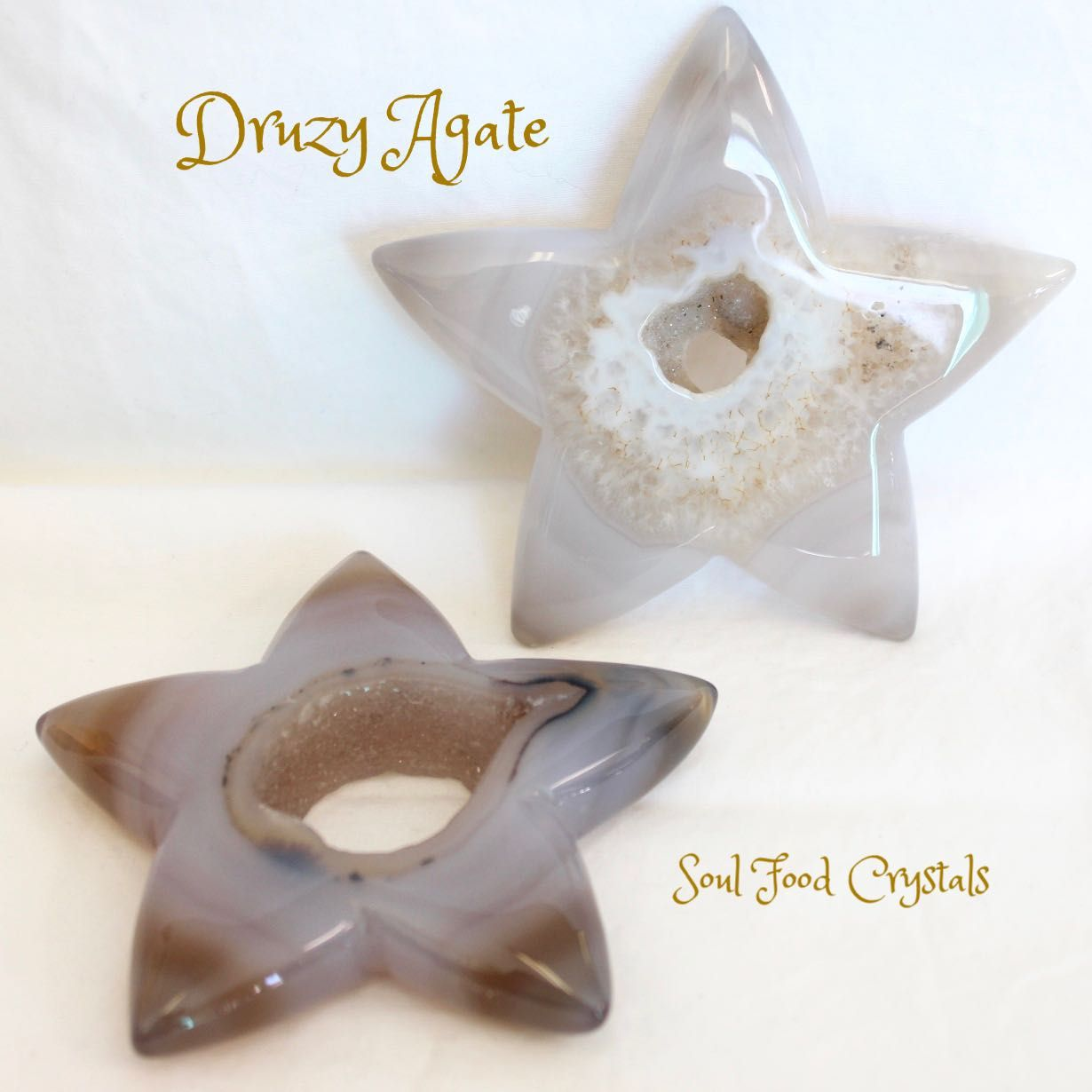Druzy Agate Star You are a star Druzy Agate helps with creativity protection and stamina