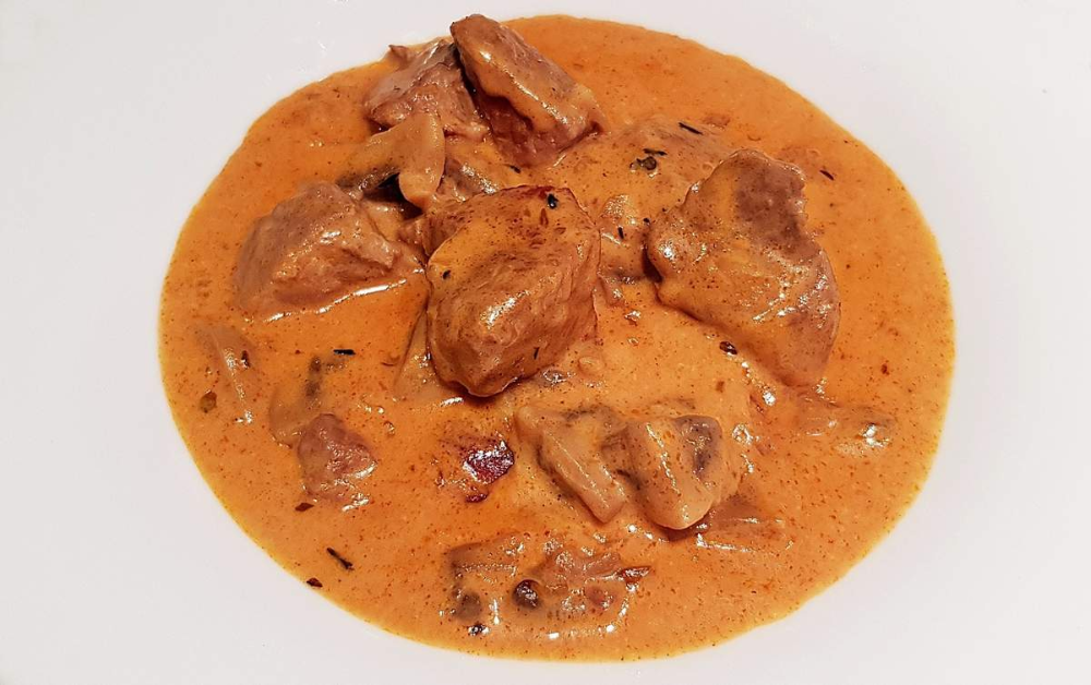 Photo of Pork stew with paprika, cream and mushrooms – The recipes …