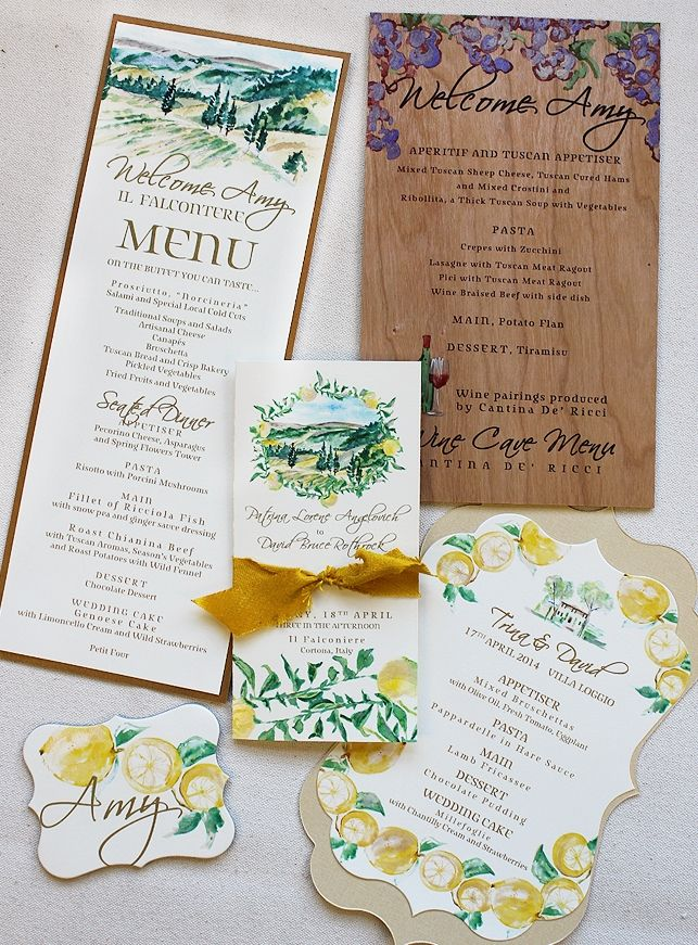 Trina a italian inspired wedding day accessories i explore ang wedding stationery invitations at higit pa under the tuscan sun bridal shower filmwisefo