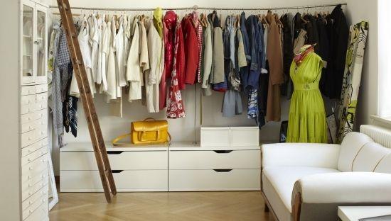 ideen für kleiderständer design stange metall | Wohnen | Pinterest ...