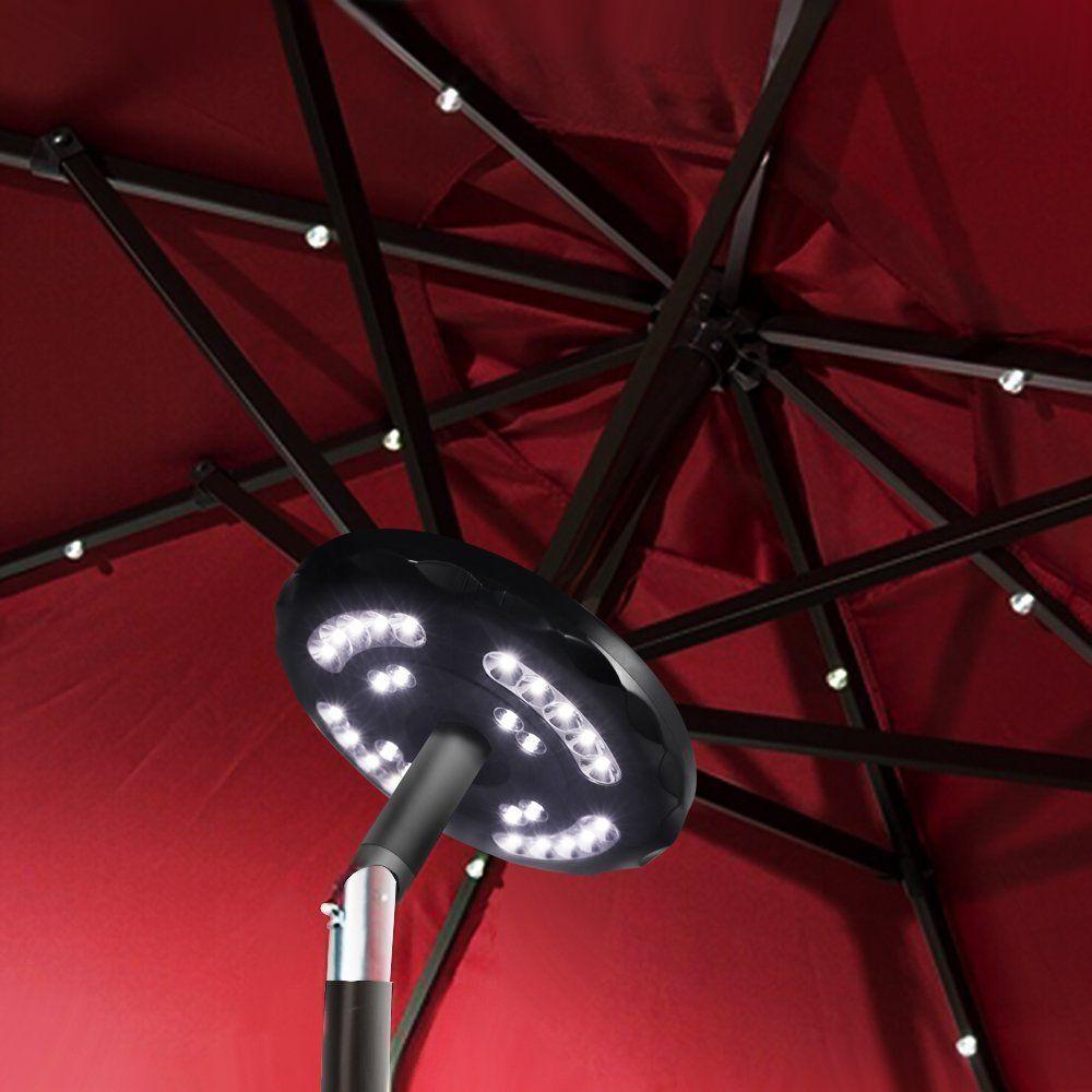 Upgraded 28led Patio Umbrella Light Hallomall Wireless Pole Led Lights 400lumens Max Built