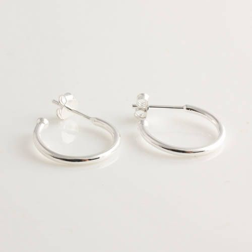 Sterling Silver Hoop Earrings Only 18 98 Genuine Er013 Official