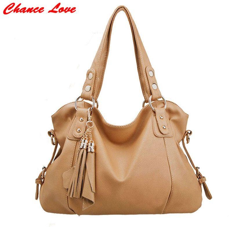8193d2361480 Chance Love Hot Sale 2016 New Fashion Big Bag Women handbag bags lady  Compound cowhide material
