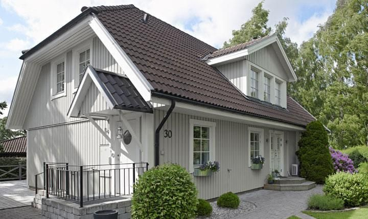 Lovely Scandinavian House Exteriors