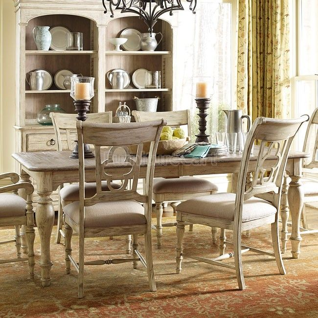 Attractive Weatherford Canterbury Dining Table (Cornsilk)