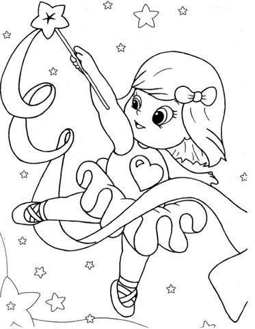 Desenho De Bailarina Com Fita Desenho De Bailarina Bailarina