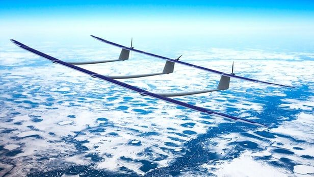 Highaltitude, autonomous, solarpowered aircraft flexes