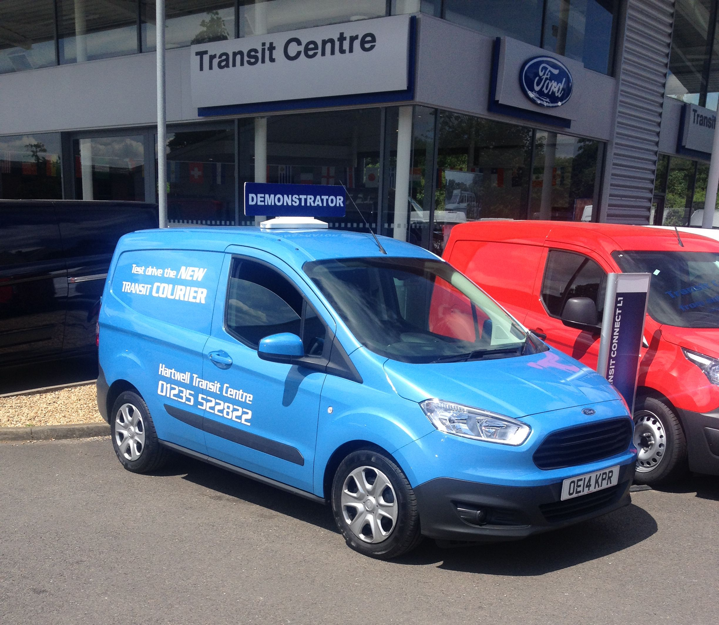 The new ford transit courier at hartwell abingdon transit centre the all new ford transit courier pinterest the o jays centre and ford transit