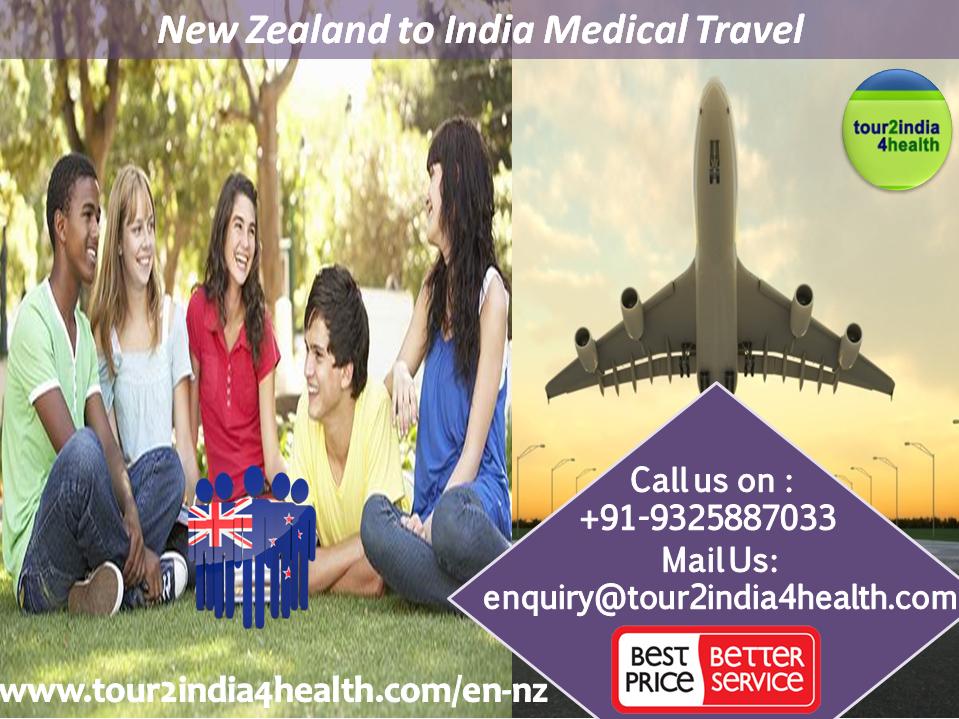 New Zealand to India Medical Travel