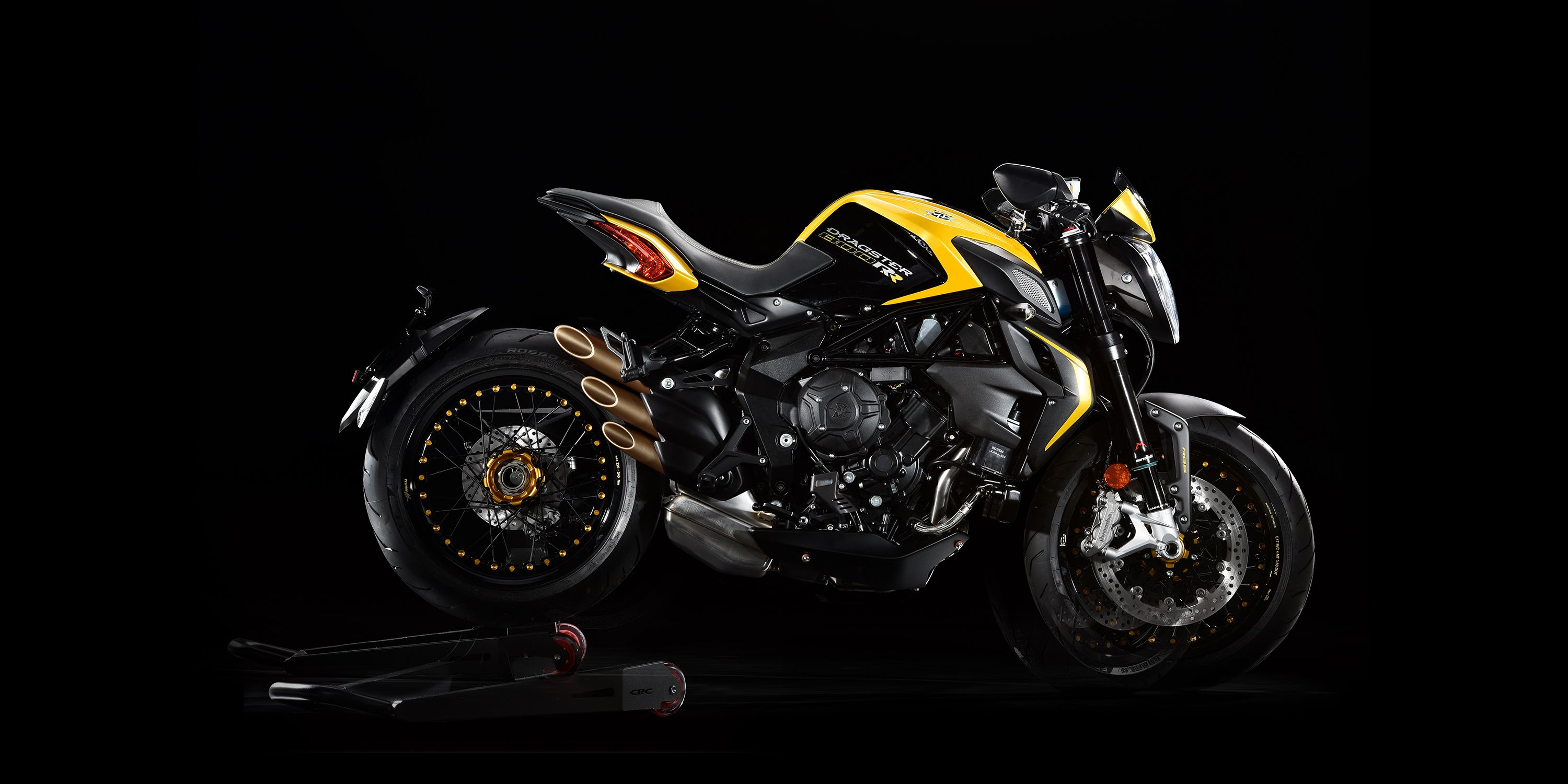 brutale 800 dragster rr motorcycle | mv agusta yellow/black | moto