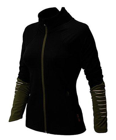 Love this Black & Combat HKNB Running Jacket by New Balance on #zulily! #zulilyfinds