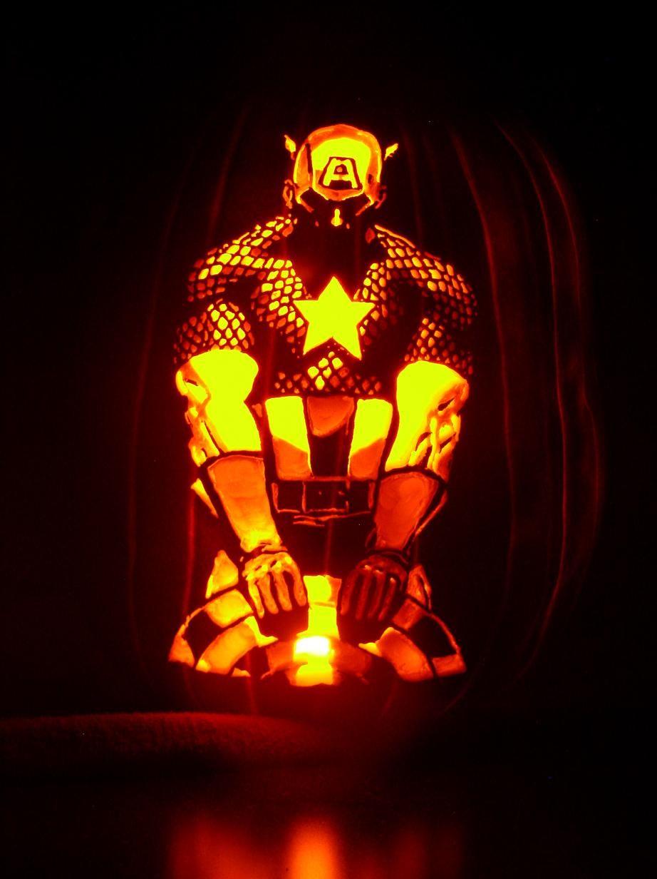 Marvelous Spiderman Pumpkin Carving For Kid Halloween Decoration ...