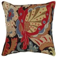 Needlepoint Tudor Oriental II Pillow