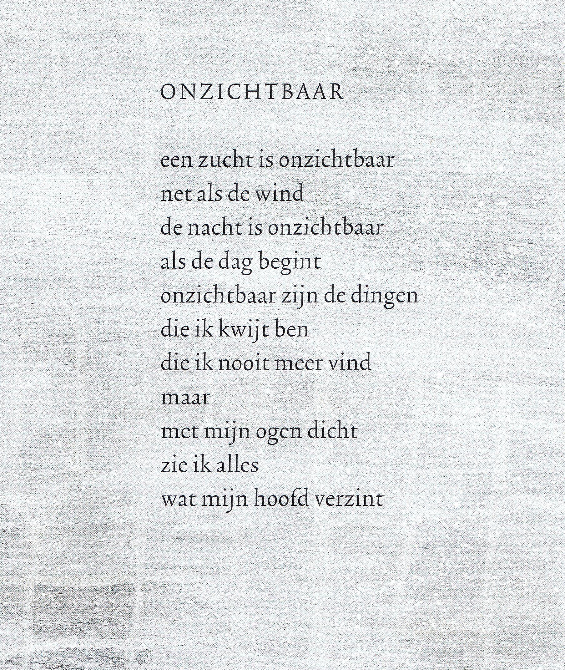 Citaten Bekende Dichters : Quot onzichtbaar hans monique hagen versjes en gedichten