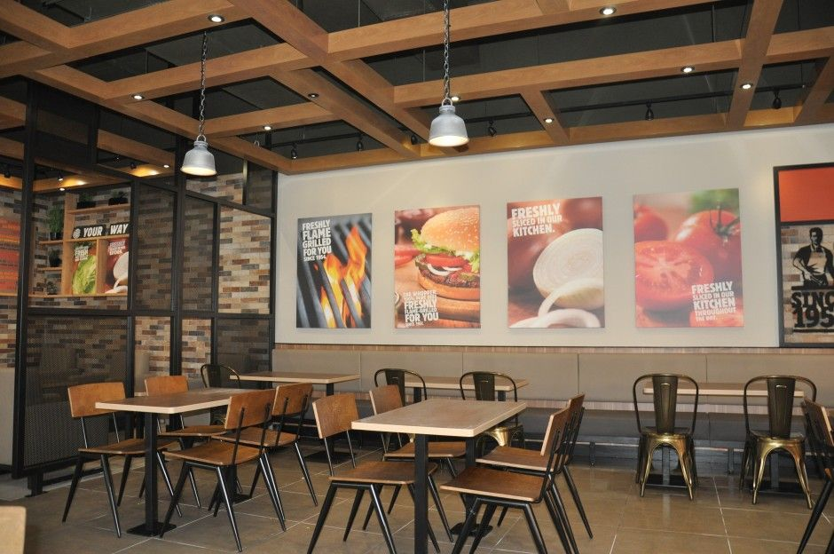 Burger King Goes Nostalgic With 20 20 Garden Grill Uk Store