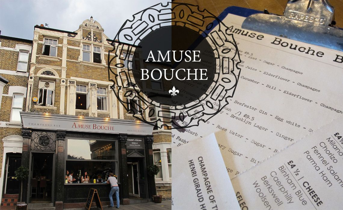 Amuse Bouche From South to South Amusing, London