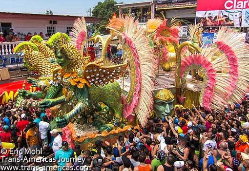 Las Tablas Carnaval Calle Arriba Float Las Tablas Teaching Culture Panama