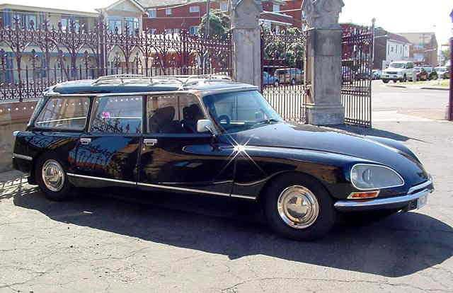 1960 1966 Citroen Hearse Part 1 For The French Funeral