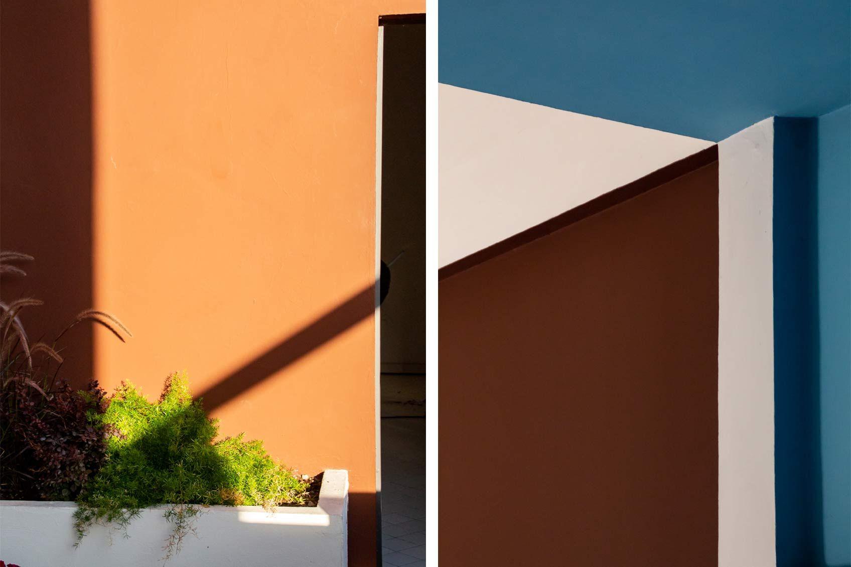 Les Couleurs Le Corbusier Wall Paint C Les Couleurs Suisse Ag