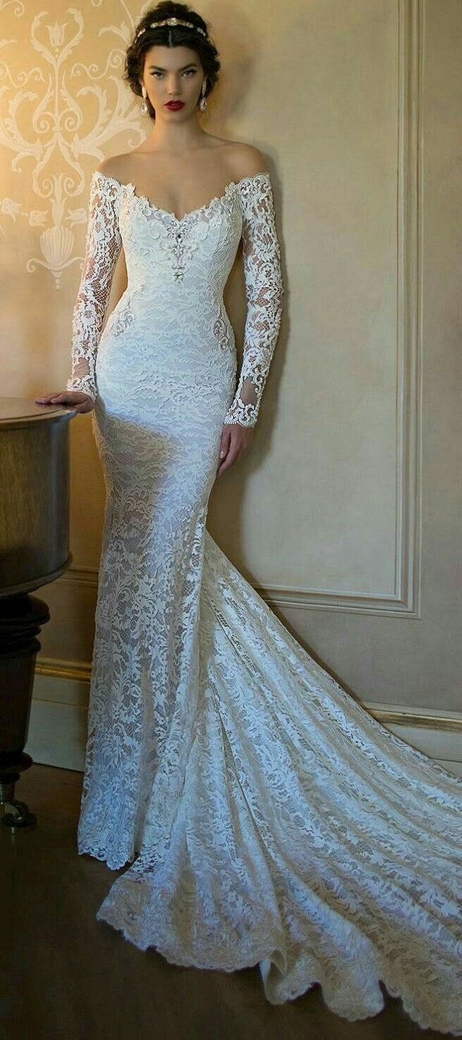 Pin de Danitza Galdámez en Wedding Dresses | Pinterest | Vestiditos ...