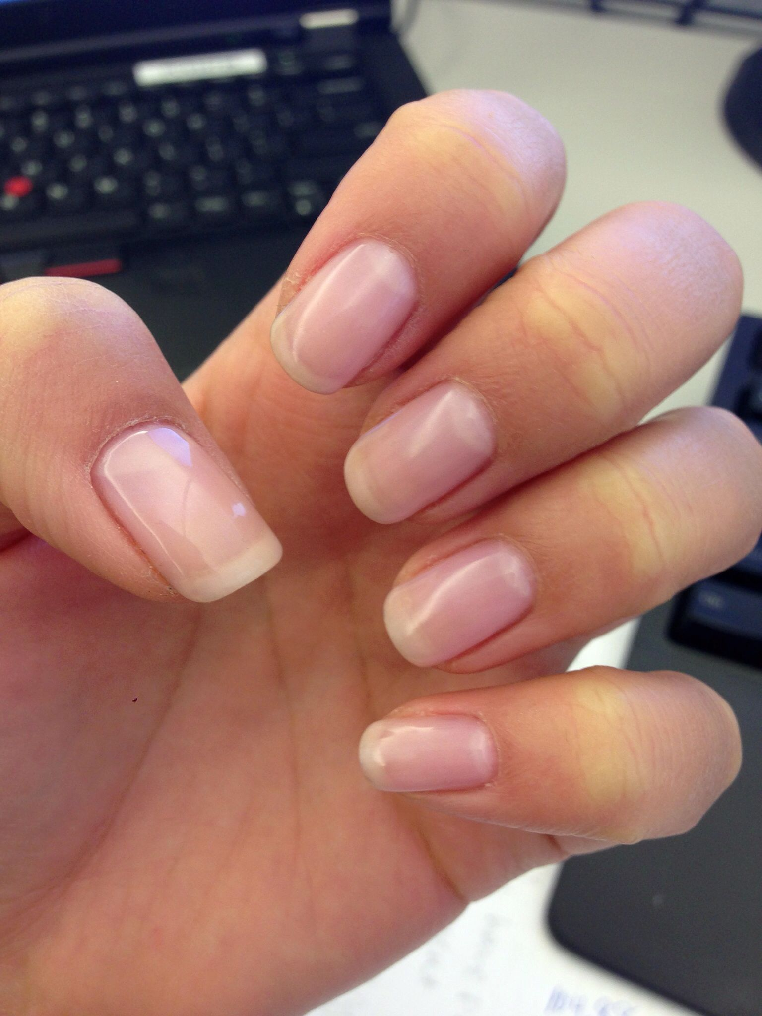 Shellac - negligee | nails | Pinterest