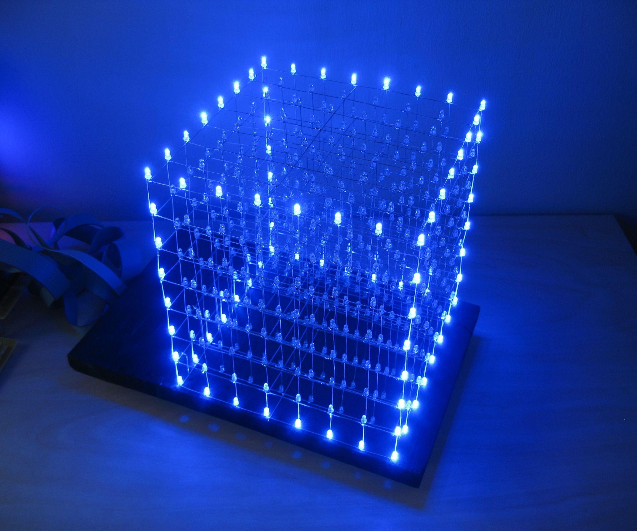 led cube 8x8x8 tutorials and tips arduino led cube arduino