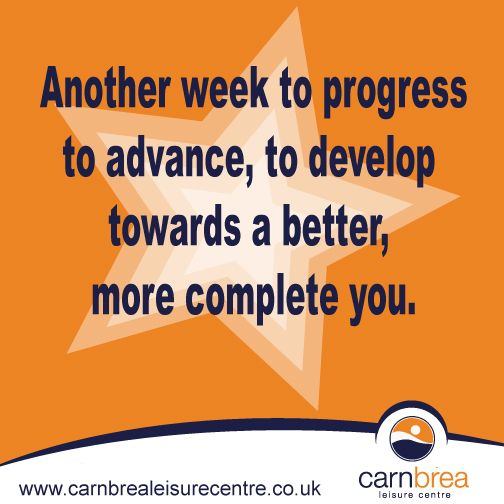 Another week to progress... www.carnbrealeisurecentre.co.uk