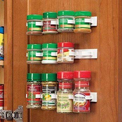 LightInTheBox Clip N Store Küche Flasche Spice Organizer Rack Schrank Tür Spice Clips 20-clip Set