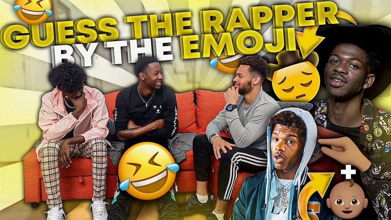 Extreme Guess That Rapper Emoji Only Loser Pays In 2020 Rapper Guess Loser