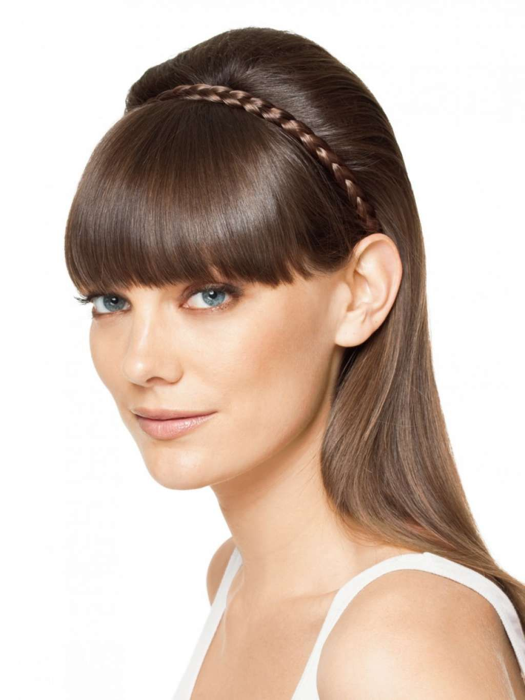 Neat sleek hairstyle with braided headband :: one1lady.com :: #hair #hairs #hairstyle #hairstyles