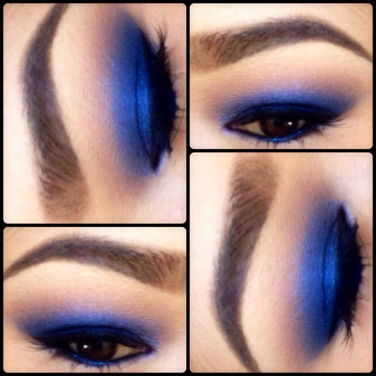 Blue eyeshadow makeup maybelline color tattoo in for Color tattoo maybelline
