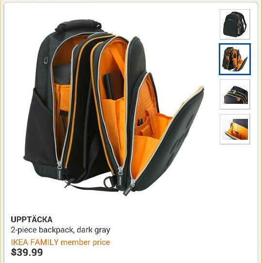 7d52b0ce584b Ikea Backpack great bag for an outting with your toddler or alternative  diaper bag.