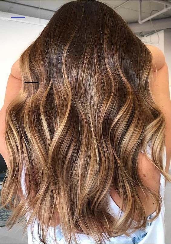 Warm Brunette Balayage Haartöne zum Ausprobieren im Jahr 2019 Warm Brunette Balayage …   – Haare