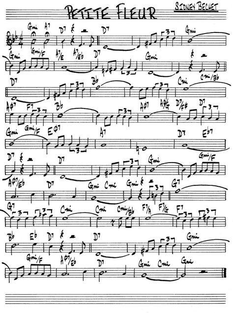 Petite Fleur (Sidney Bechet) Plus | Partitions clarinette