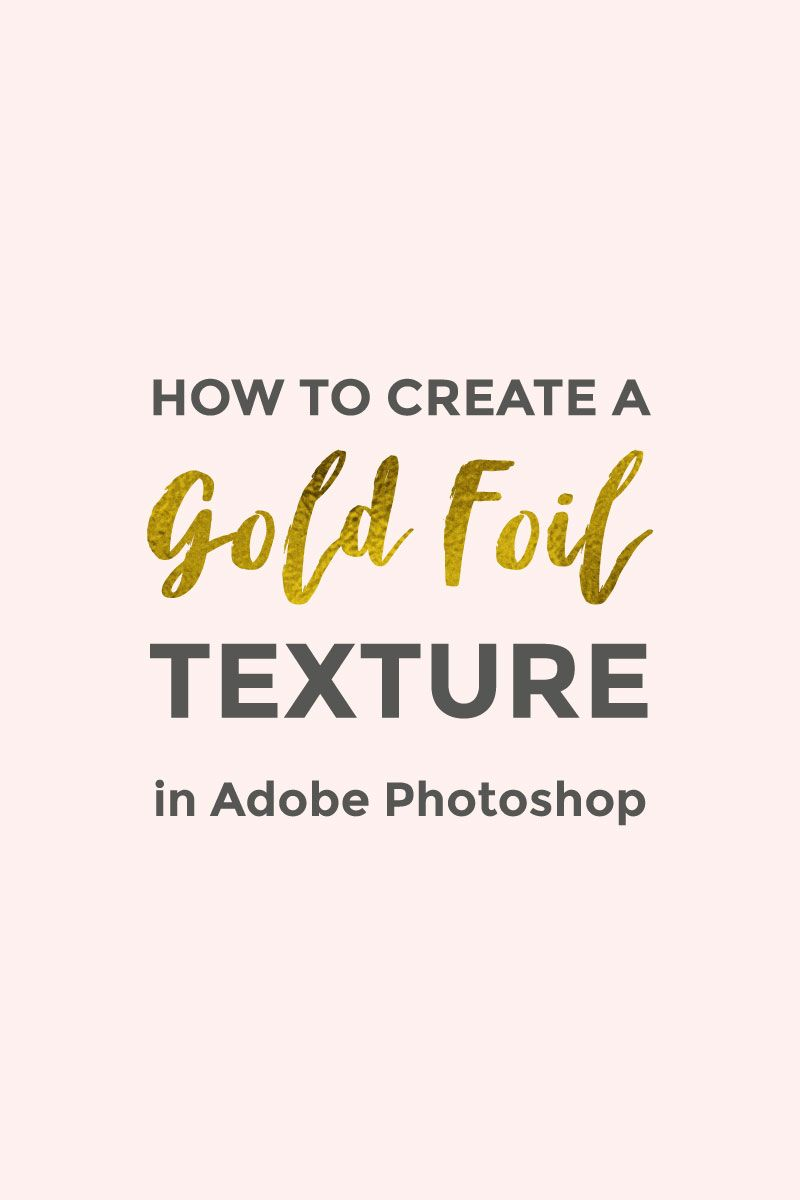 How to create a gold foil texture in photoshop tutoriais redes how to create a gold foil texture in photoshop elan creative co ccuart Choice Image