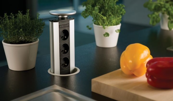 Design Stopcontact Keuken : Keukens dovy basismodel keuken design white tzr modern