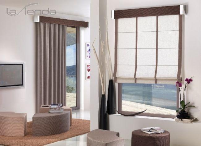 Tende per interni catania vendita di tendaggi e tessuti for Arredamento moderno tende